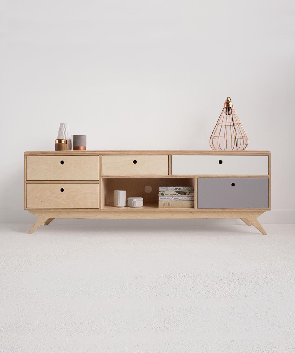 plywood chest of drawers handmade custom