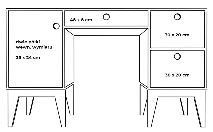 plywood desk children measurements