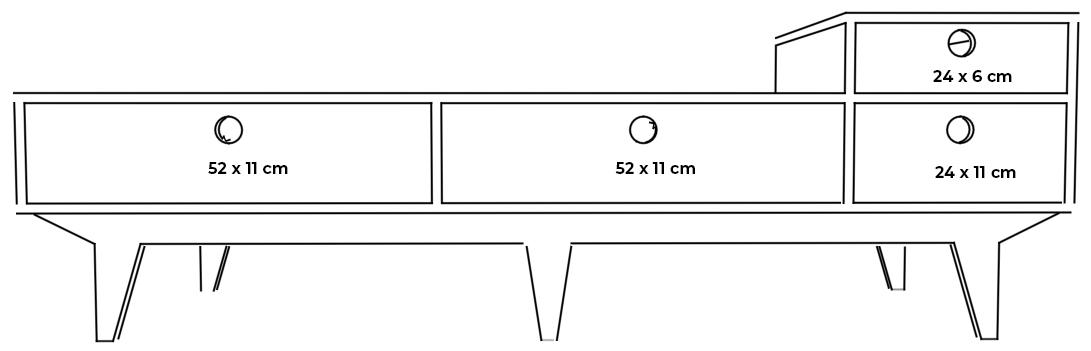 plywood seat drawers measurements