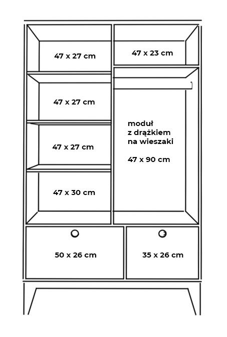plywood wardrobe measurements