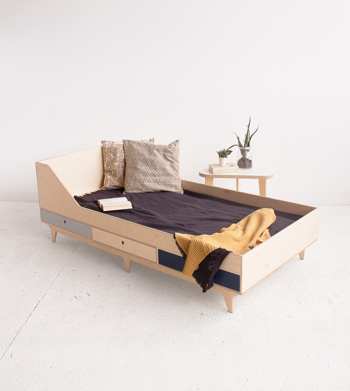 plywood bed custom handmade children