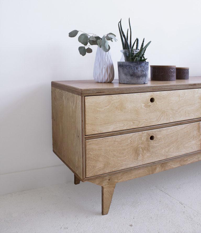 plywood tv cabinet handmade custom