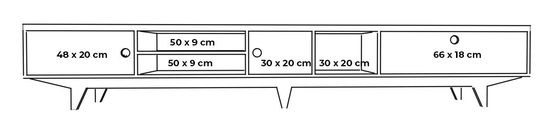 plywood cabinet tv unit measurements