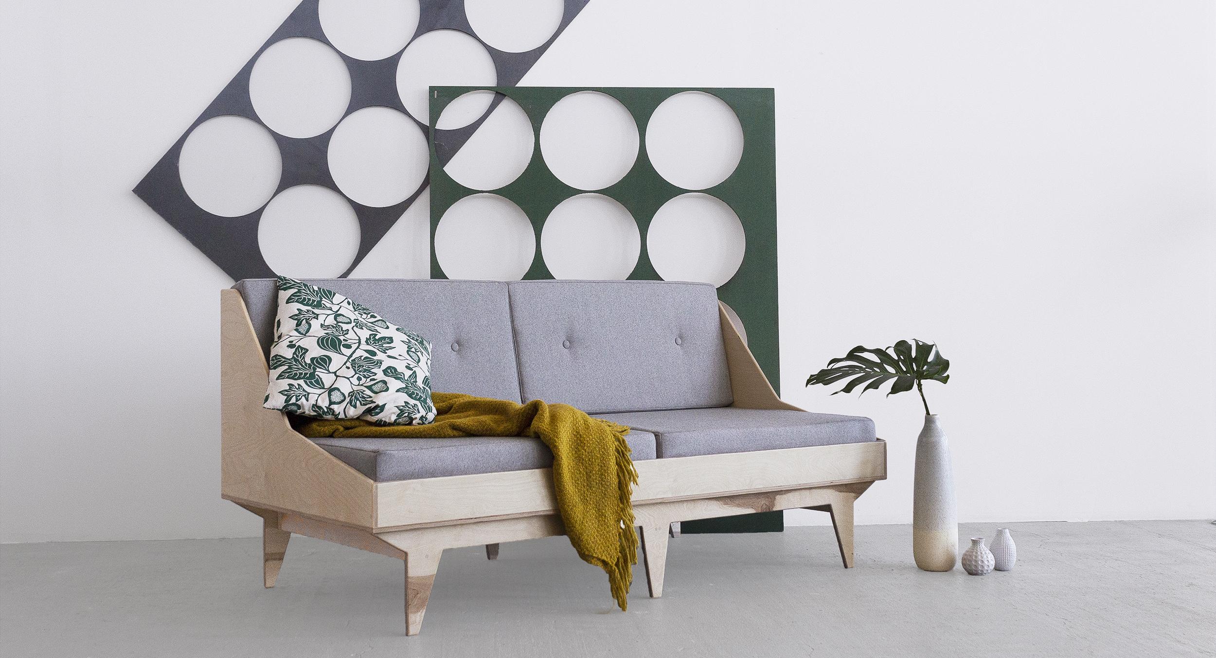 kanapa sofa sklejka ze sklejki