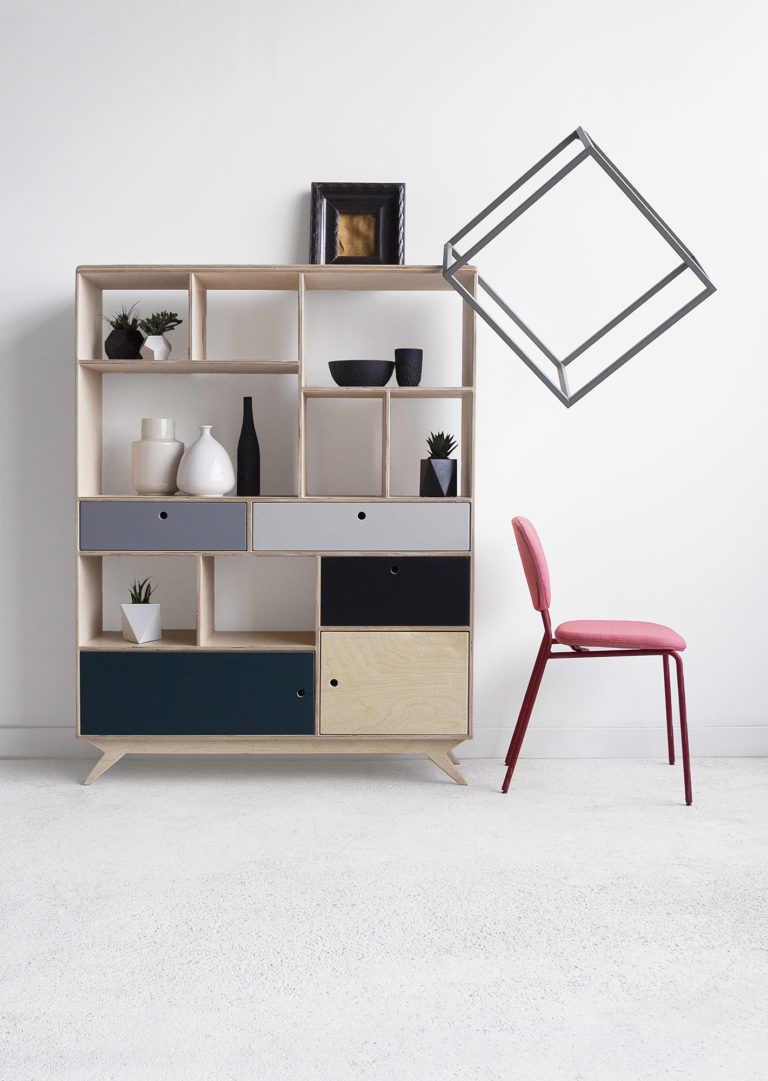 bookcase plywood