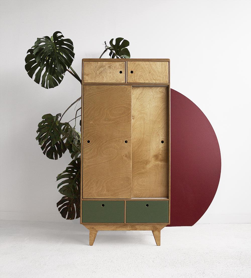 premium plywood wardrobe