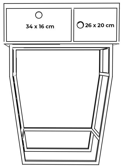 plywood lit console measurements