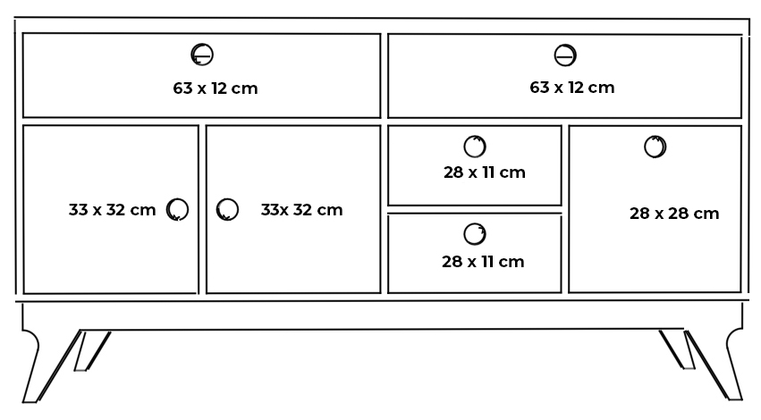 plywood chest of drawers mini measurements