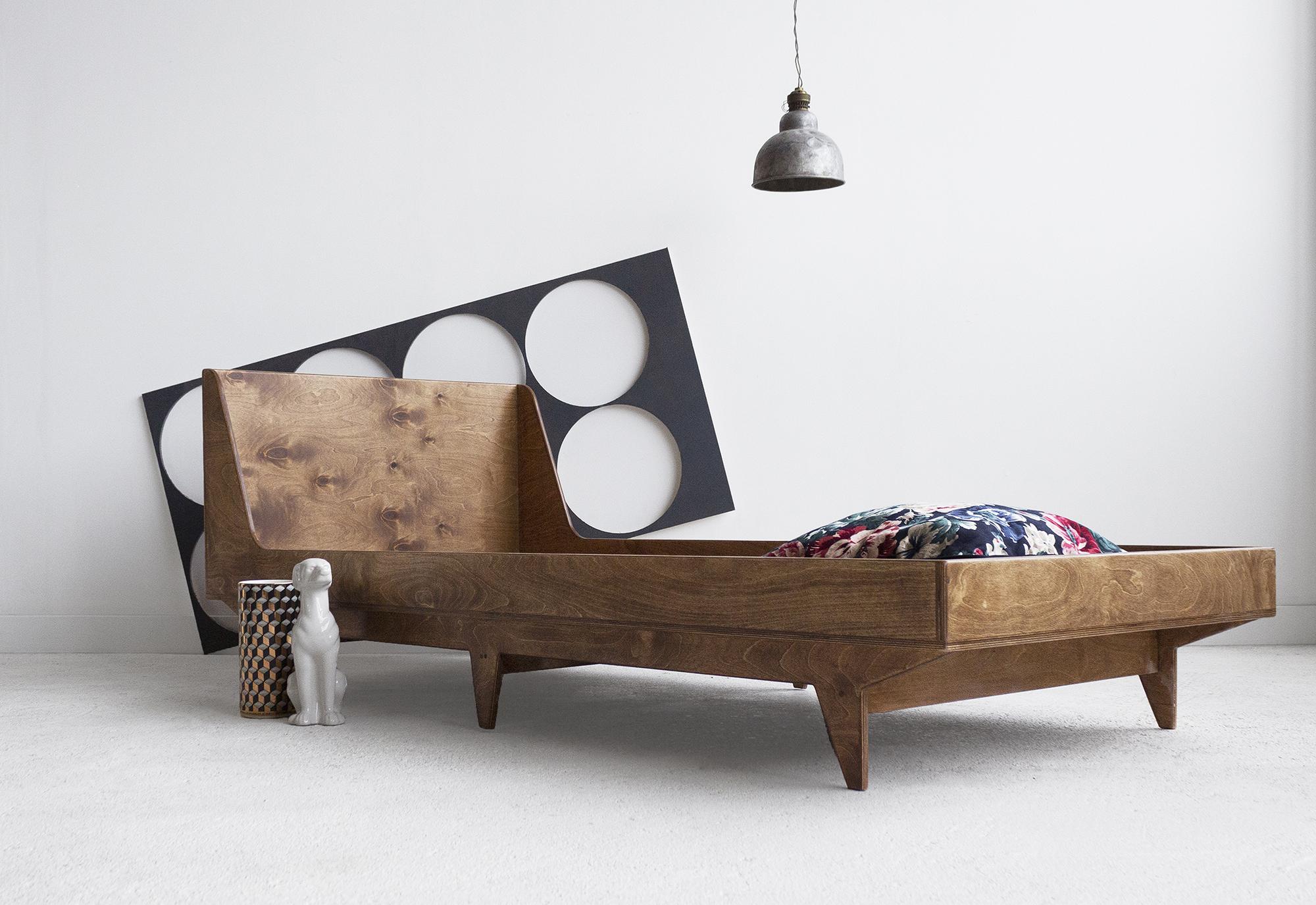 łóżko pojedyncze dziecięce handmade