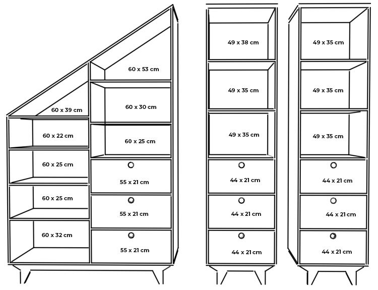 children wardrobe bookshelf plywood measurements