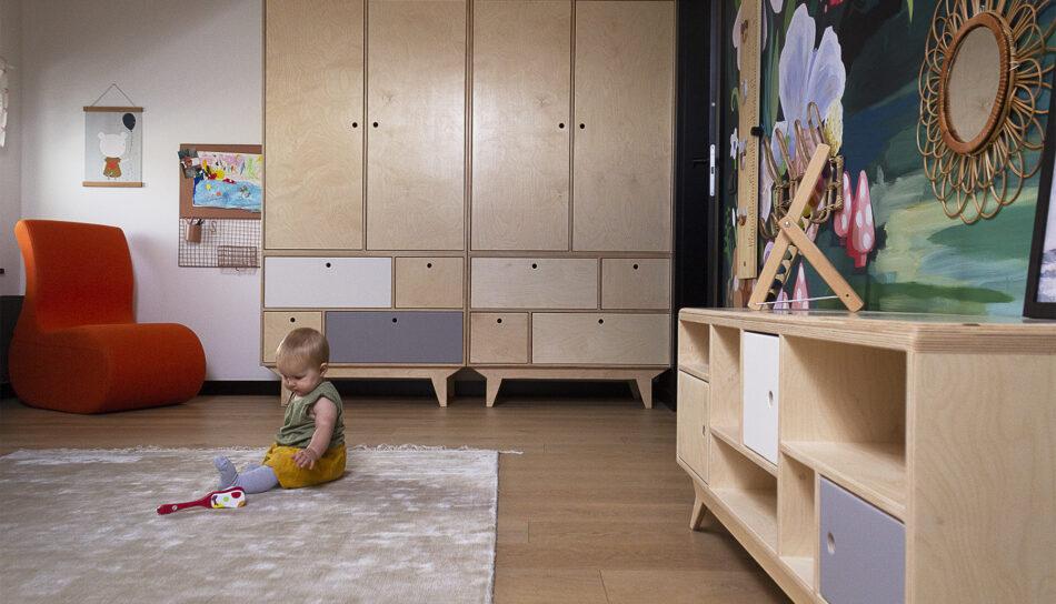 pokój dziecięcy szafy