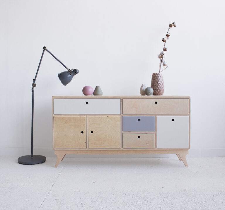 plywood chest of drawers mini handmade custom