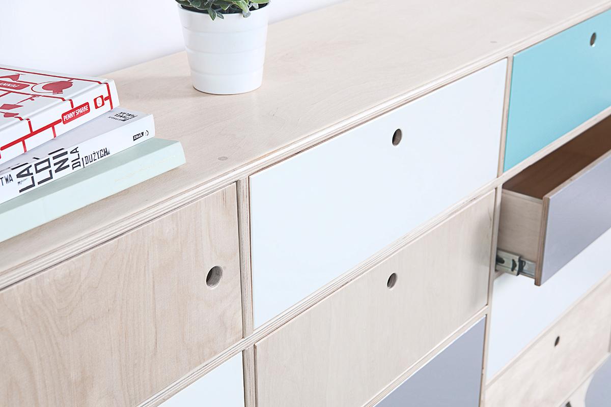 plywood chest of drawers handmade custom design