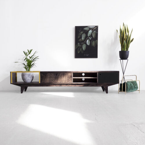 tv bench unit living room plywood