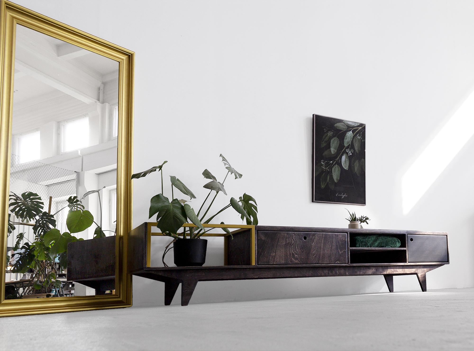 tv unit cabinet plywood loft